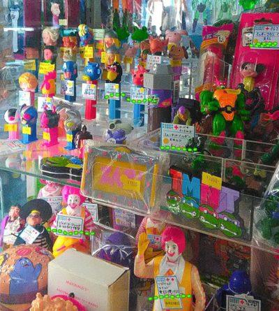 中野ブロードウェイにあるおもちゃ